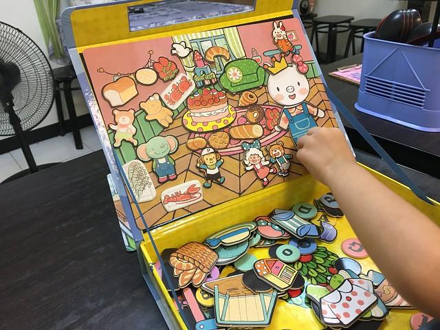 等晚飯上桌前先玩一下@小豬乖乖的歡樂遊戲寶盒