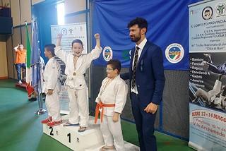 Noicattaro. Vittorie judo front