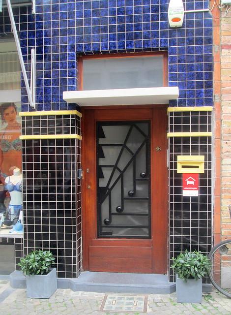Art Deco Door, Bruges