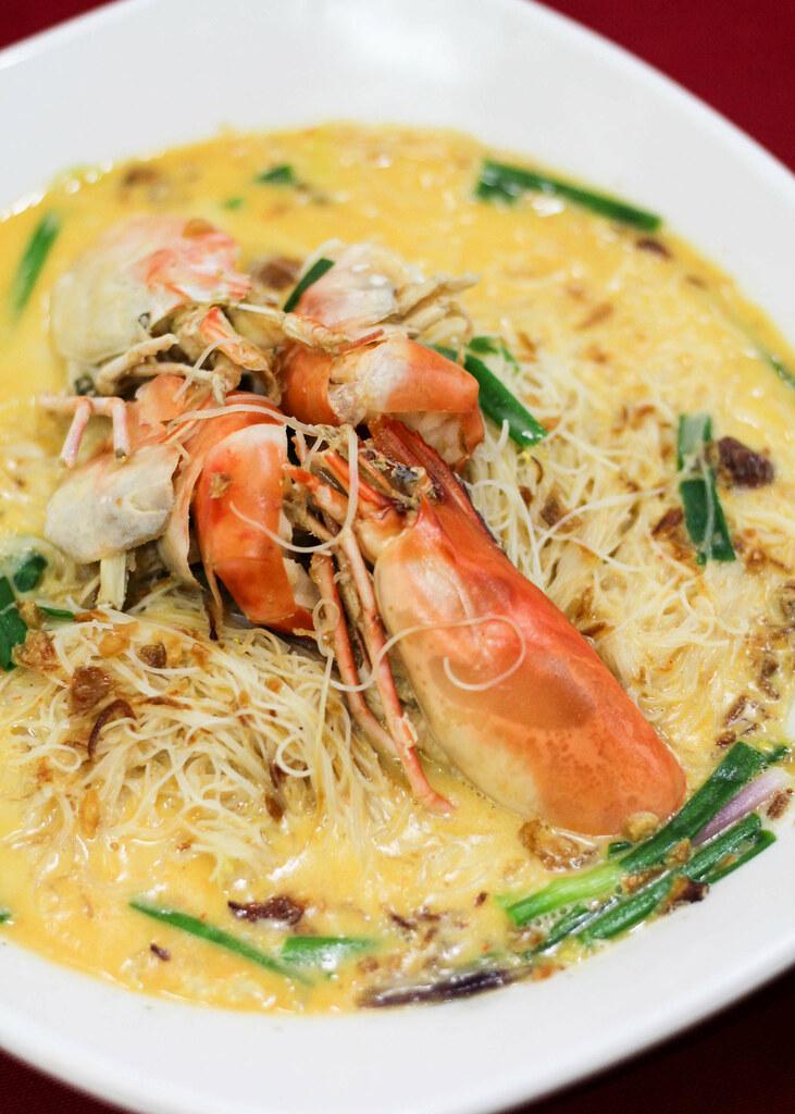 Restoran Tong Sheng: Cheesy Prawn Meehun