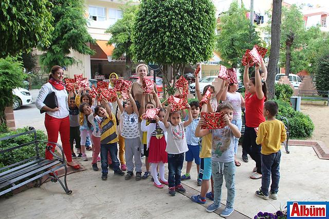 Kent Konseyi'nden çocuklara anlamlı etkinlik