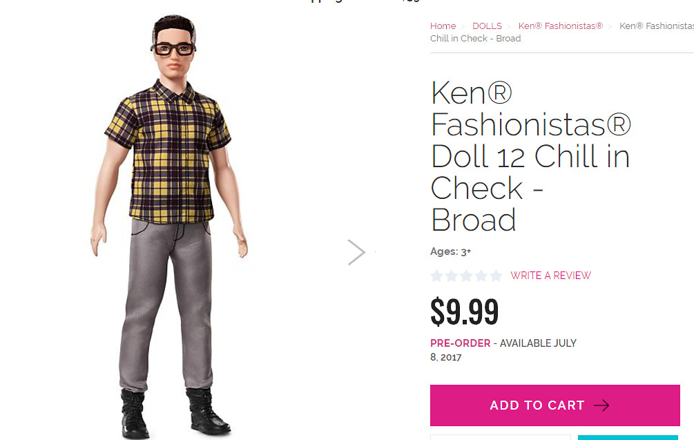 New Ken (Mattel Promo Photos)