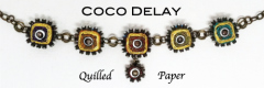 Coco Delay quilled paper jewelry