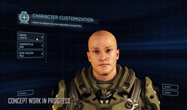 Star Citizen - Character Creation