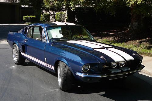 Alistair's Car - 1967 Mustang GT500