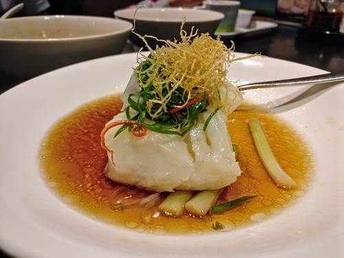 Hong Kong Classic Steamed Cod Fillet with Superior Soy Sauce