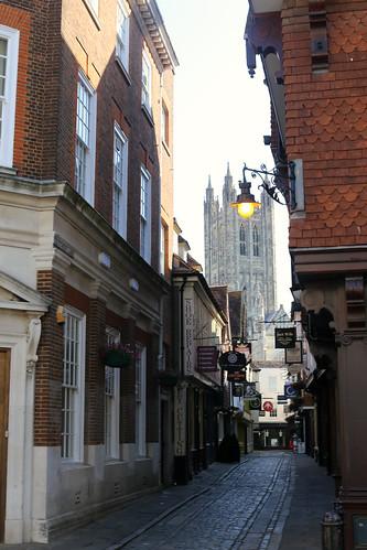 A summer's morning walk round Canterbury