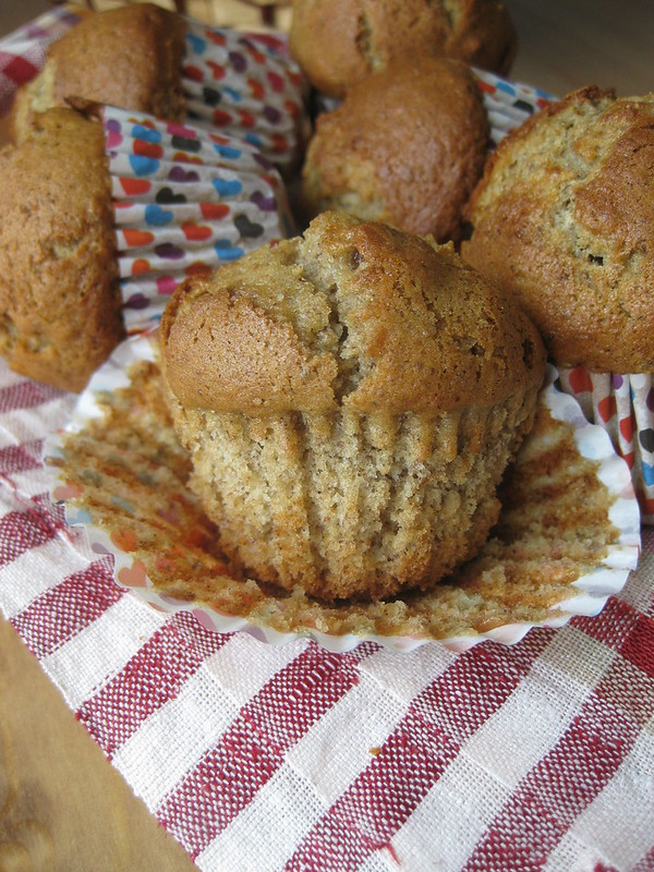 Date and Hazelnut Muffins