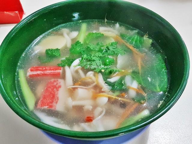 Tofu With Minced Pork Soup