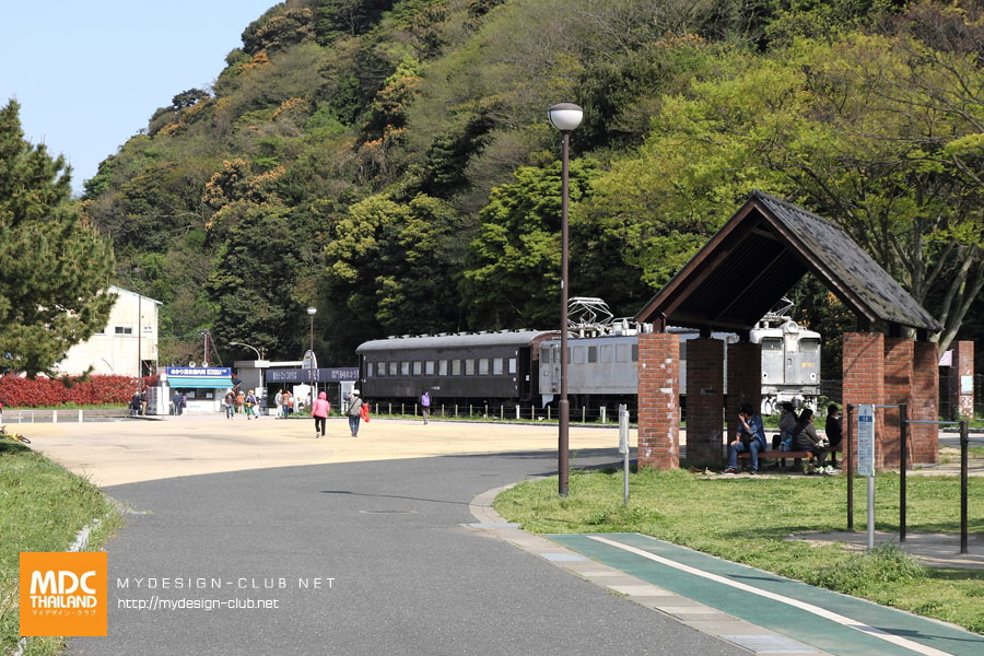Mojiko Retro Train Shiokaze_19