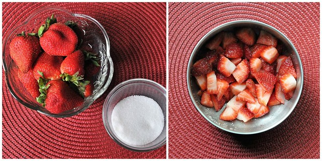 Sugared Strawberries