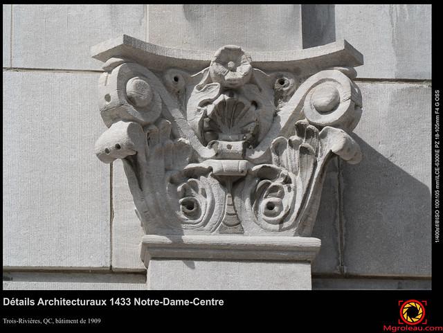 Détails Architecturaux 1433 Notre-Dame-Centre