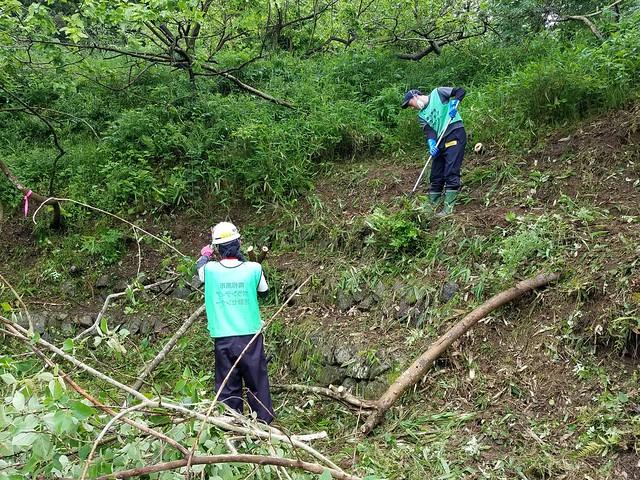 南相馬・小高でボランティア(援人 2017年 0526便)