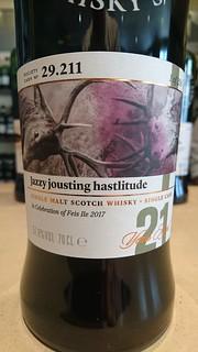 SMWS 29.211 - Jazzy jousting hastlitude