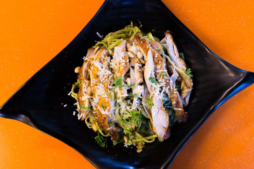 Simpang Bedok: Spize Pesto Chicken Linguine
