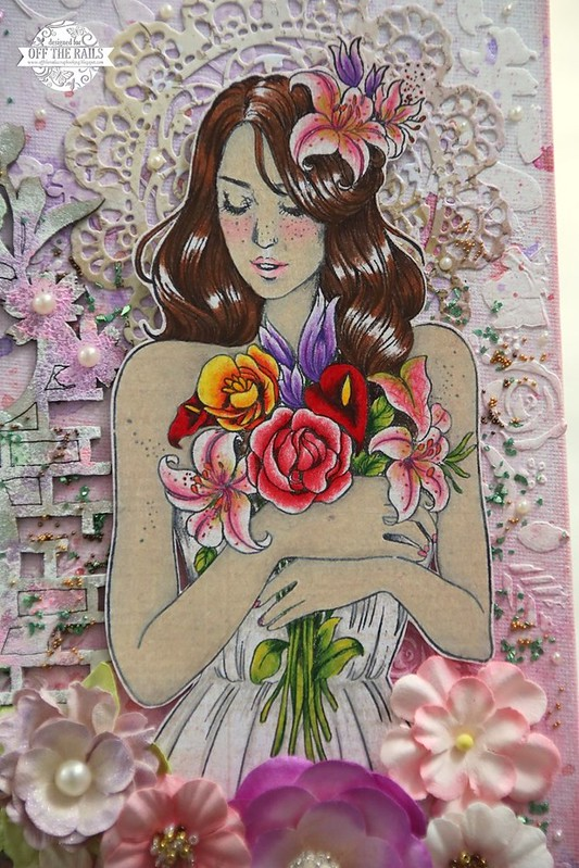 """Princess Gabrielle Mixed Media Canvas"""