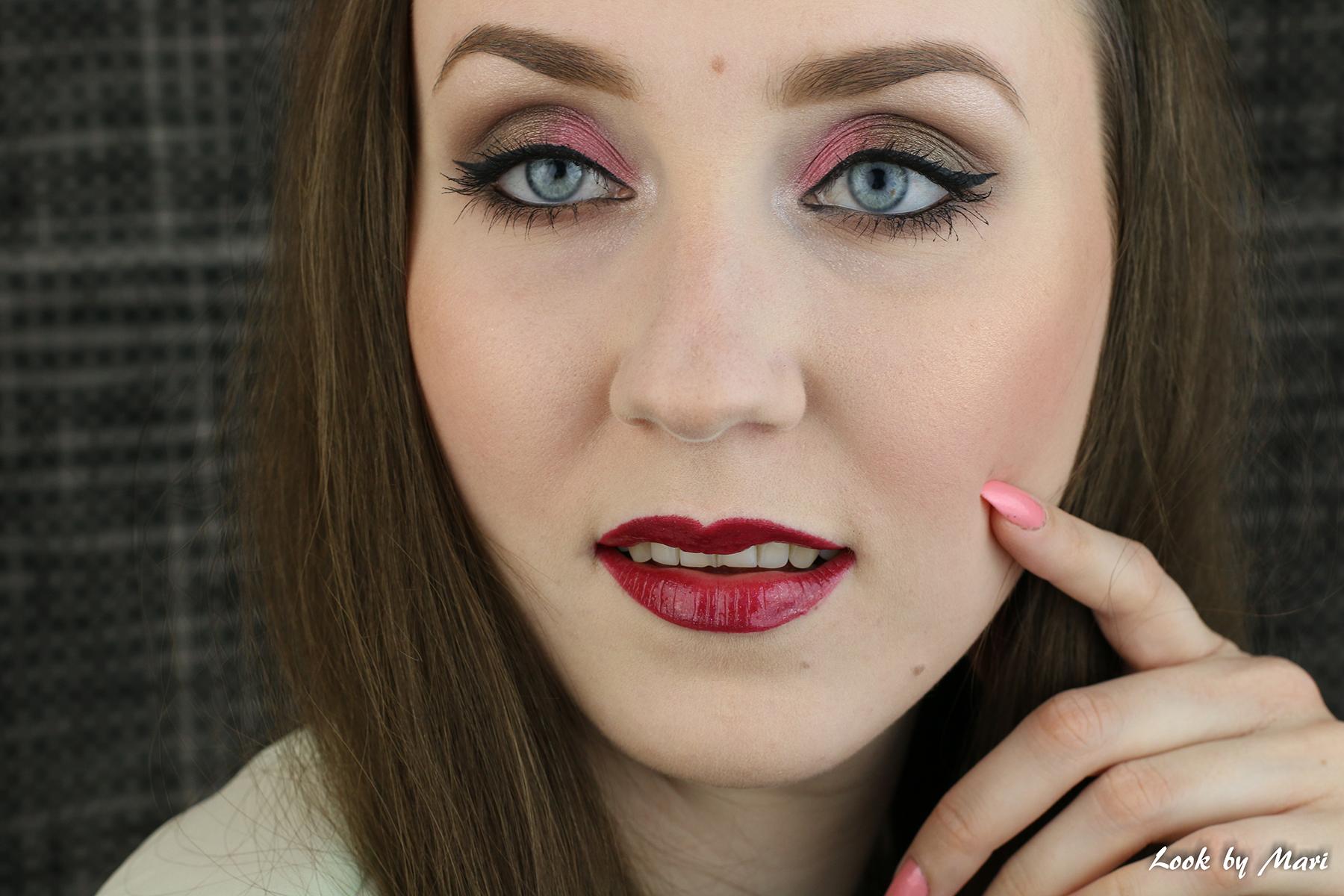 18 maybelline the 24karat nudes eyeshadow paletti review swatches makeup kokemuksia luomiväripaletti