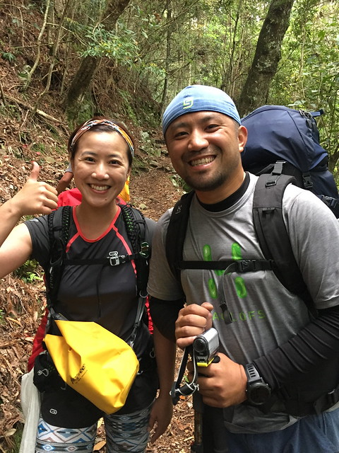太誇!台灣有百岳,一年有365天,我跟小黑就是有辦法在山裡相逢!