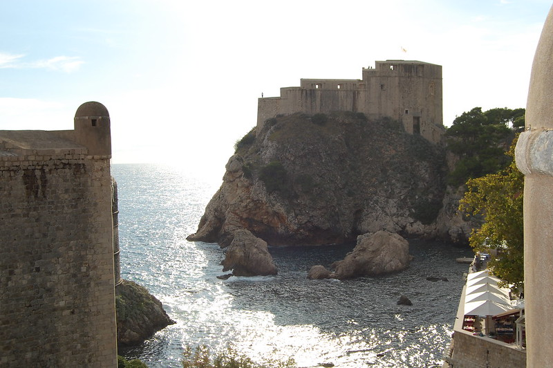 Red Fortress of Game of Thrones in Dubrovnik