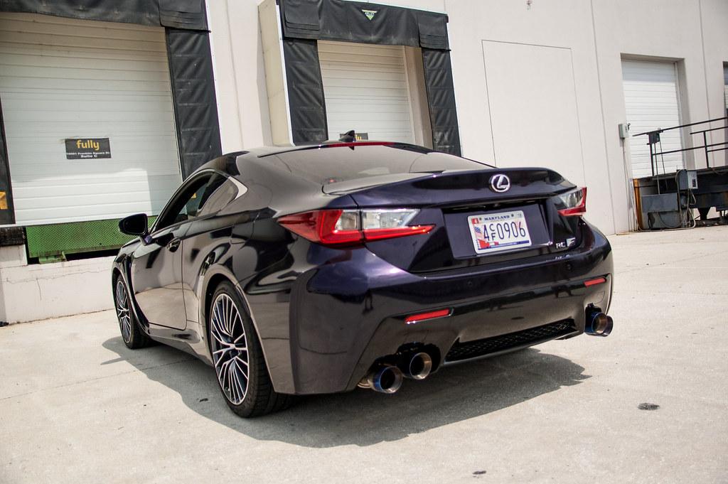 Purple Wrap Rcf Clublexus Lexus Forum Discussion