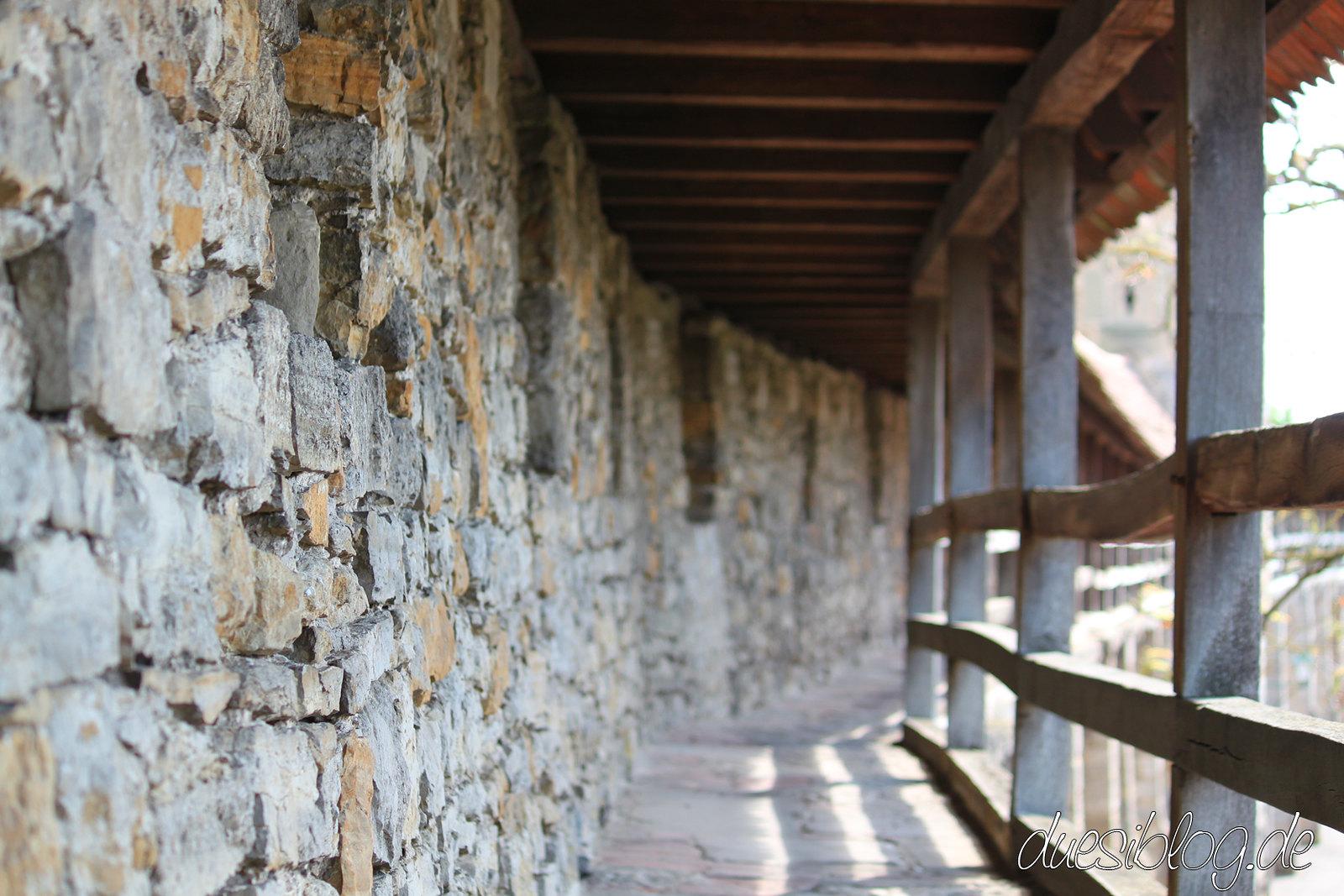 Rothenburg ob der Tauber Stadtmauer Türme duesiblog 35