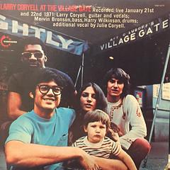 LARRY CORYELL:AT THE VILLAGE GATE(JACKET A)
