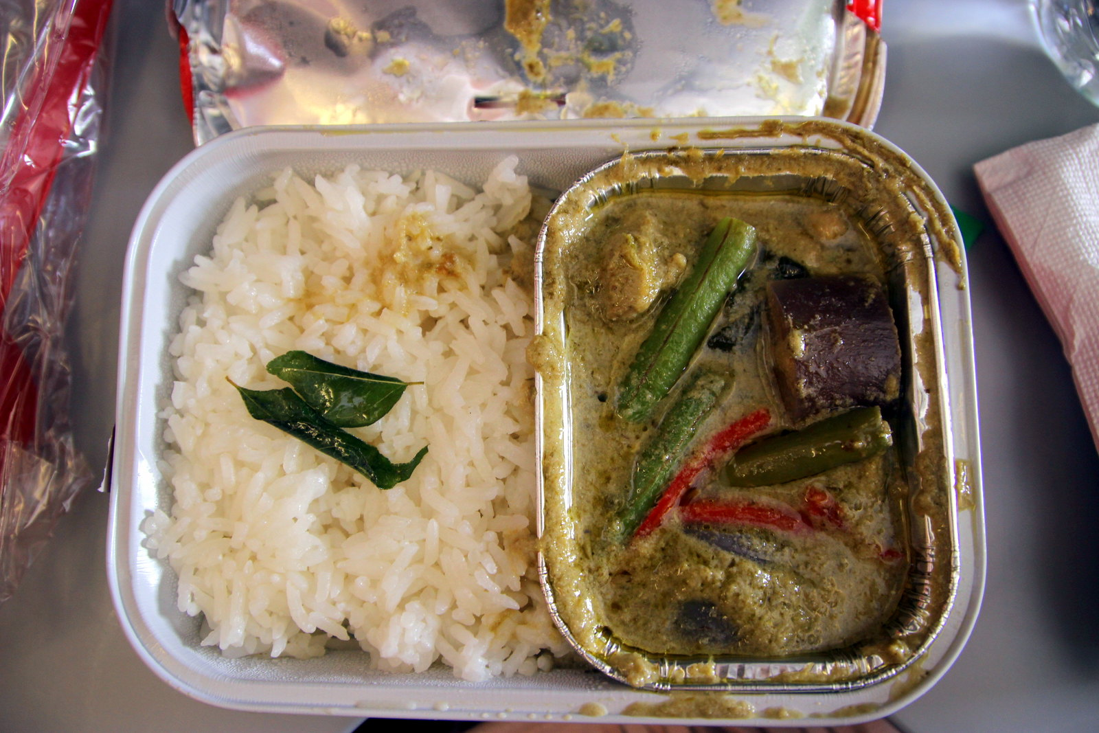 AirAsia Green Curry