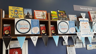 National Bike Month Book Display