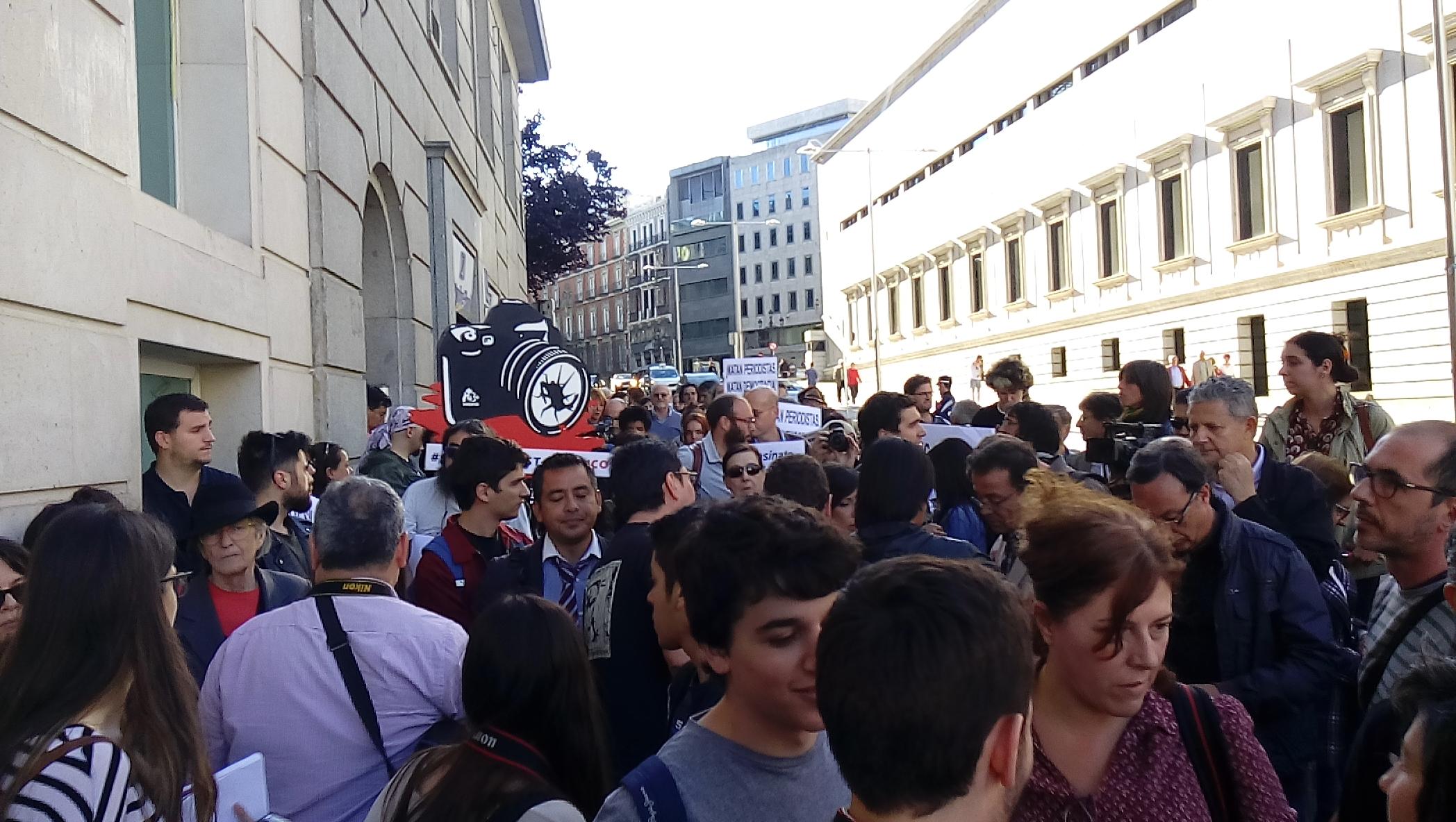 Manifestacion contra asesinato de periodistas4