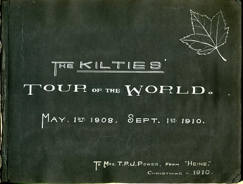 Kilties Tour of the World photograph album