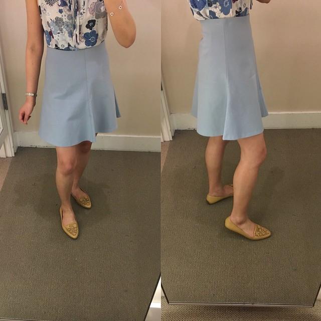 LOFT Pull On Flippy Skirt, size XXS regular