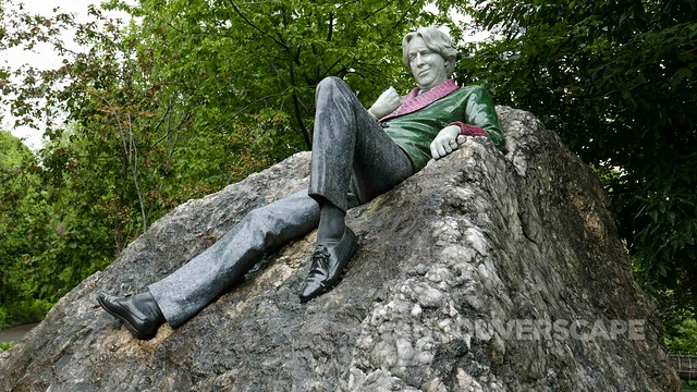 Dublin 2017/Oscar Wilde statue, Merrion Square