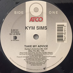 KYM SIMS:TAKE MY ADVICE(LABEL SIDE-A)