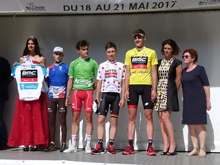 Remy ROCHAS (Chambéry Cyclisme Formation), Alex JOURNIAUX (Vendée-U Pays de Loire), Bjorg LAMBRECHT (Lotto Soudal), Pavel SIVAKOV (BMC Development Team)