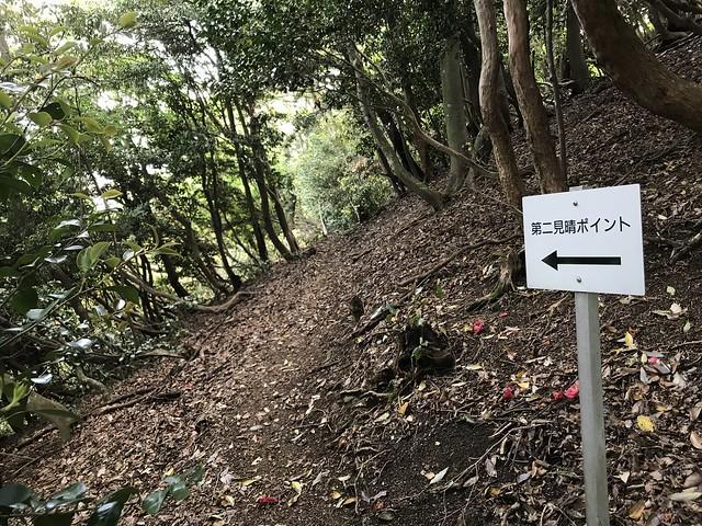 烏帽子岳 細野ルート 第二見晴ポイント 分岐