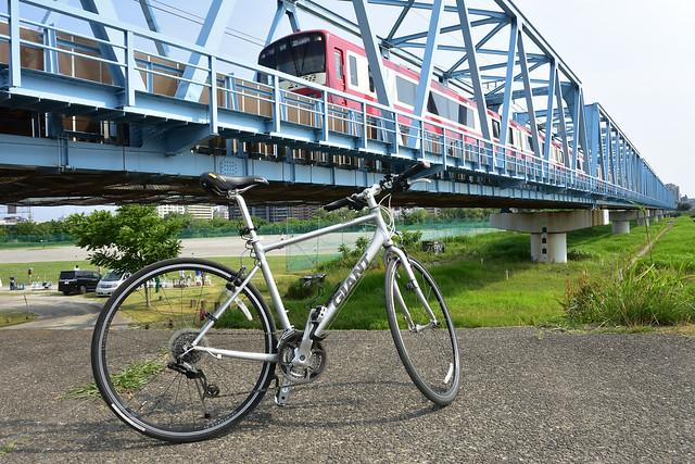 京急本線六郷川橋梁