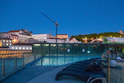 Pool in morning light