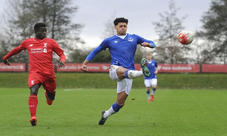Picture of Josef Yarney - Everton