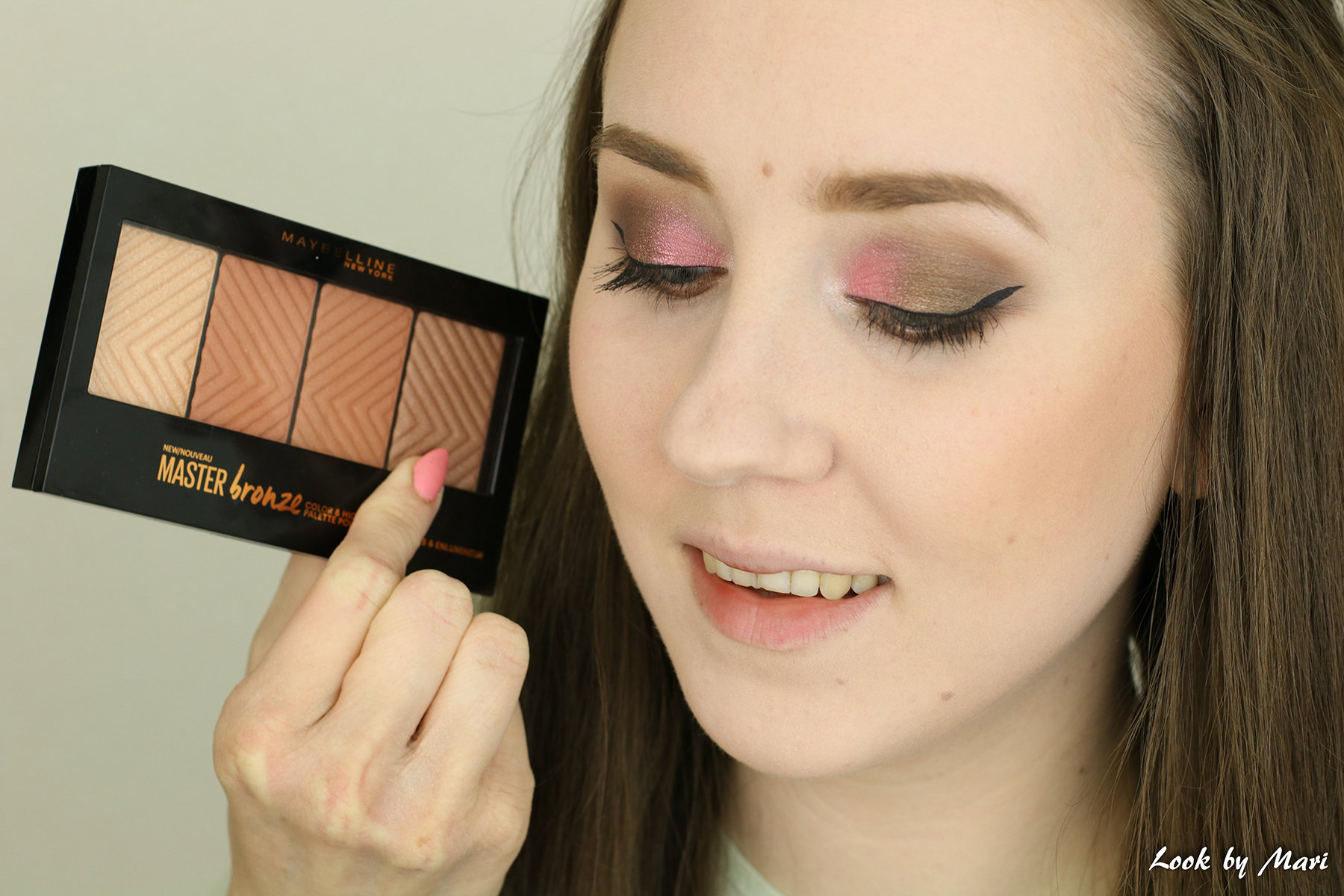 12 maybelline master bronze color & highlighting kit review kokemuksia 20 swatches