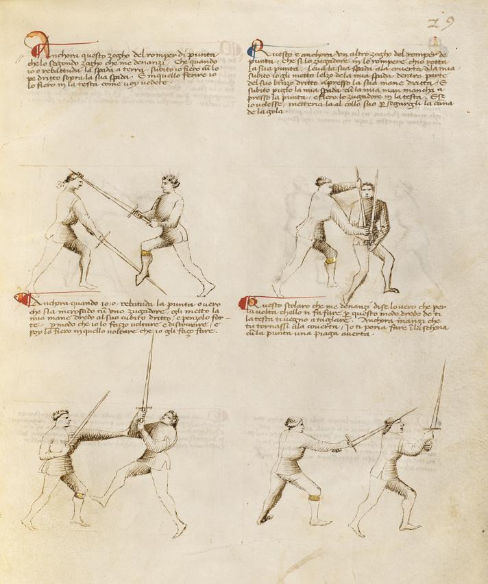 Combat with Sword