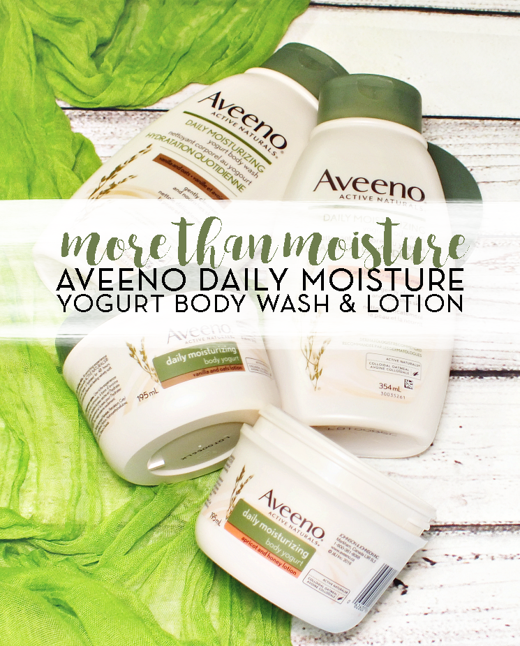 Aveeno Daily Moisturizing Yogurt Body Wash & Lotion (1)