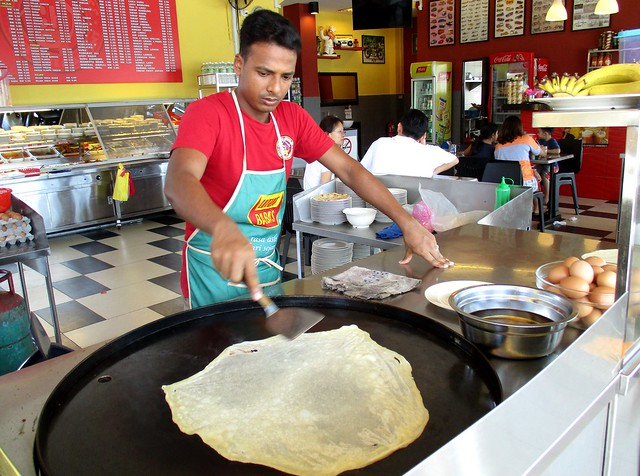 Curry House roti canai guy