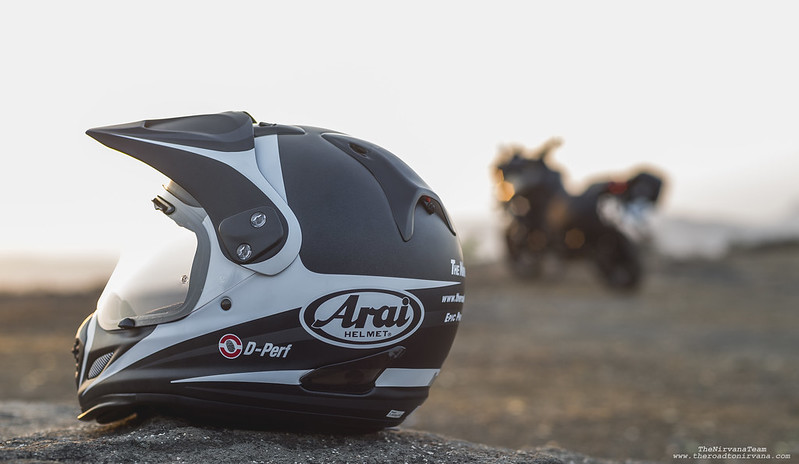 Arai Tour X4 (Route White)