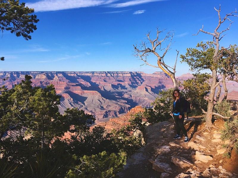 At the Grand Canyon