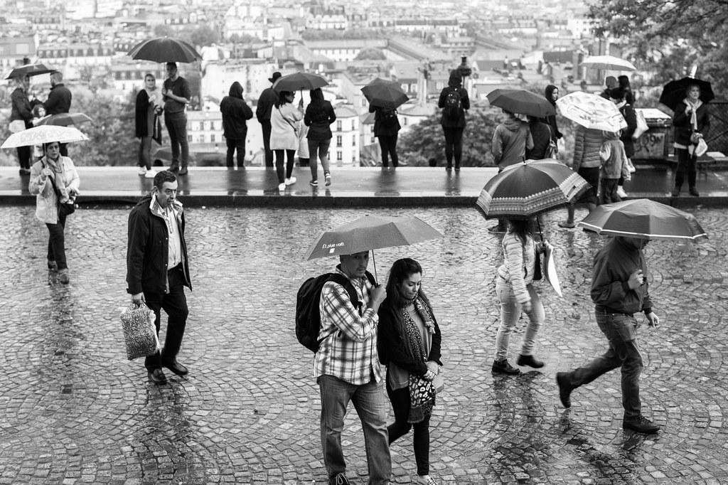 Monsoon in Paris.