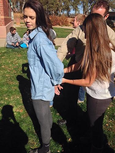 Teens in handcuffs hot