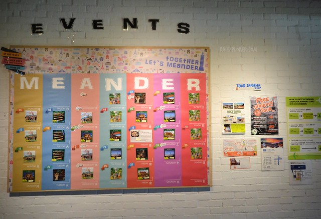 Meander Taipei Hostel events
