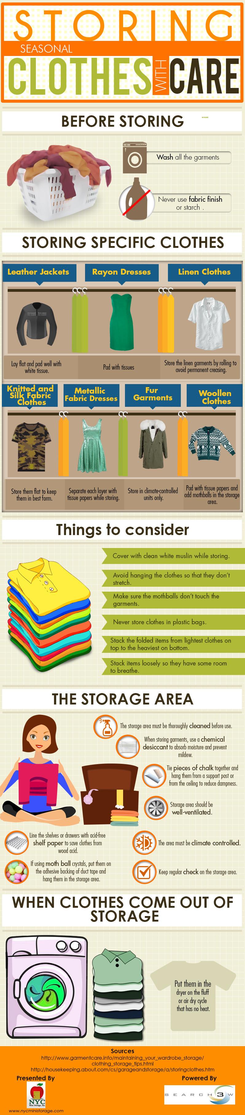 como-almacenar-ropa-estaciones-infografia