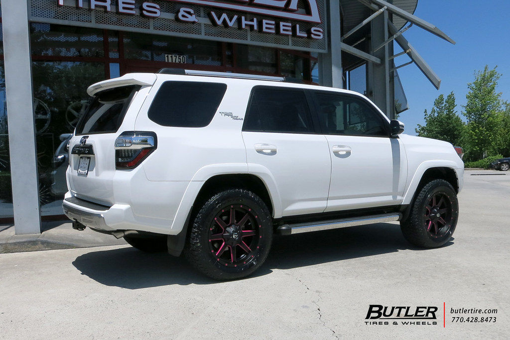 2017 Toyota 4Runner >> Toyota 4Runner with 20in Fuel Maverick Wheels and Toyo Ope ...