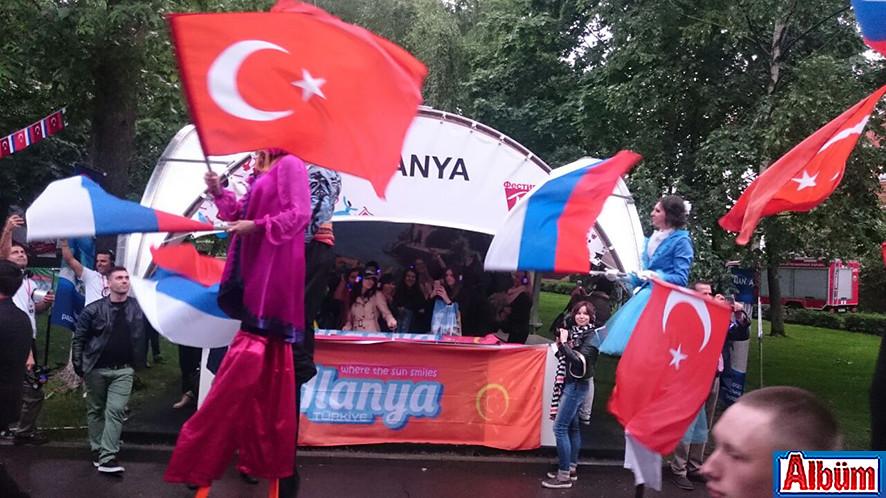 Moskova Krasnaya Presnya Parkı Türkiye Festivali10